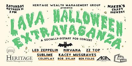 LAVA Halloween Extravaganza: A Socially Distant Pod Concert tickets