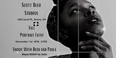 Scott Bleu Studios: Fall Portrait Event tickets