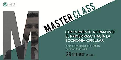 Master Class:Cumplimiento Normativo Economía Circular entradas