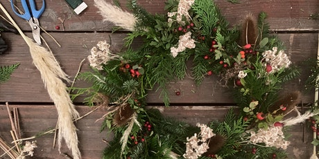 Holiday wreath workshop and tasting at Sea Cider tickets