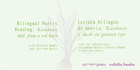 Bilingual Poetry Reading: Katabasis and from a red barn tickets