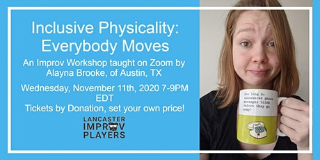 Inclusive Physicality: Everybody Moves with Alayna Brooke tickets