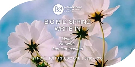 The Big Mid-Spring Write-In (Live Event) tickets