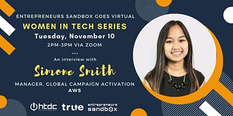 Women in Tech: An Interview with Simone Smith tickets