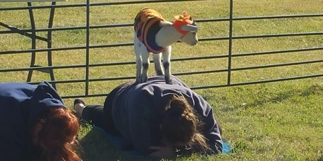 Spooky Goat Yoga! - Sat, Oct 31 @ 12pm tickets
