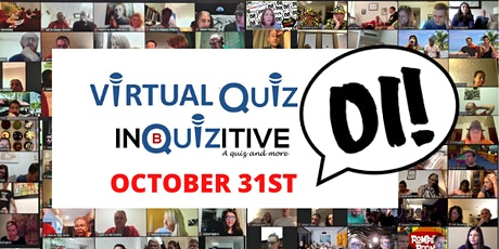 Saturday Virtual Quiz  31st October tickets