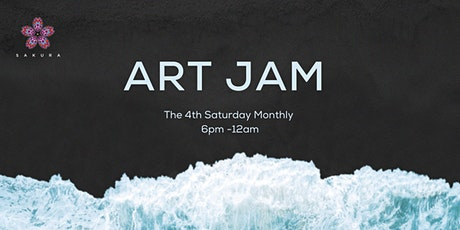 Art Jam at Sakura tickets
