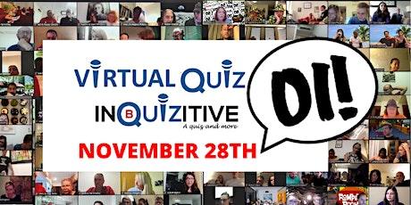 Saturday Virtual Quiz  28th November tickets