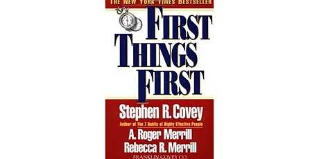 Book Review & Discussion : First Things First tickets