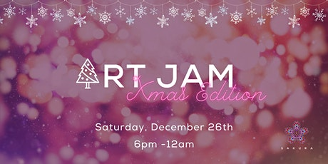Art Jam Xmas edition at Sakura tickets