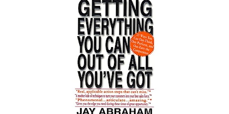 Book Review & Discussion : Getting Everything You Can Out of All You've Got tickets
