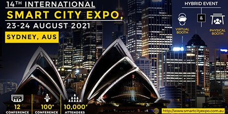14th International Smart City Expo 2021, Live Streaming Worldwide tickets