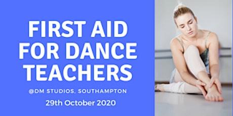 First Aid for Dance Teachers tickets