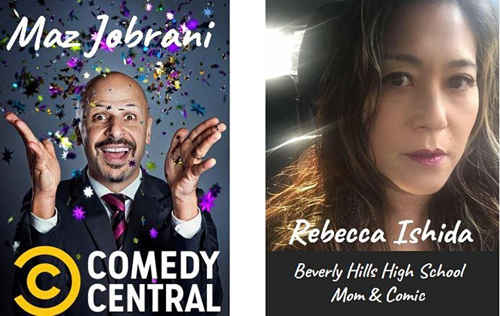 CABERNET & COMEDY - Virtual Wine Tasting & Stand-Up by Maz Jobrani image