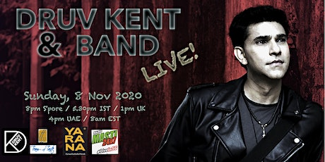 Druv Kent Band: Songs of Light tickets