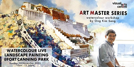 Landscape Live Watercolour Painting @Fort Canning Park by Ong Kim Seng tickets