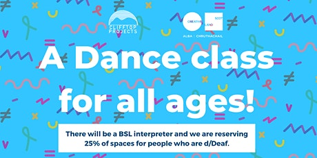 Clifftop Projects November Intergenerational Dance Class! tickets