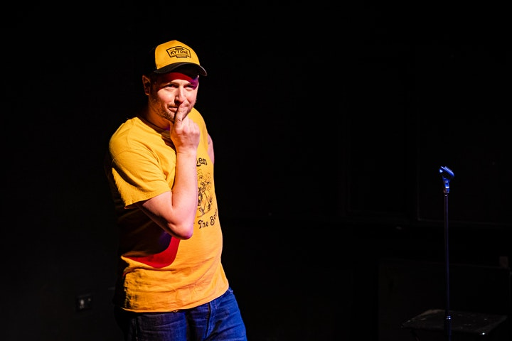 Live online comedy featuring Geoff Norcott image