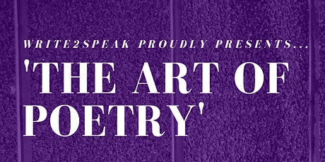 The Art of Poetry tickets