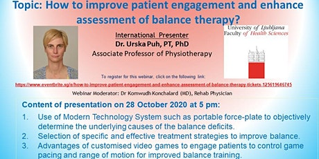 How to improve patient engagement and enhance assessment of balance therapy tickets