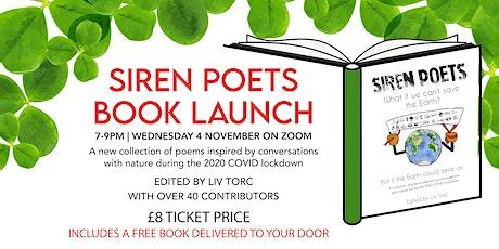 Siren Poetry Book Launch tickets