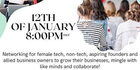 Female Techpreneur Live tickets