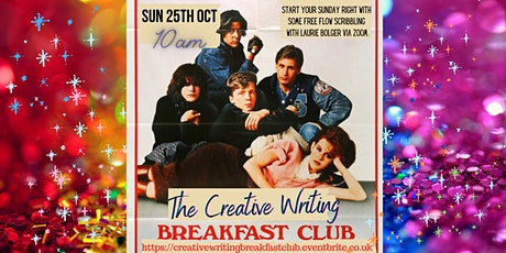 The Creative Writing Breakfast Club Session 11 tickets