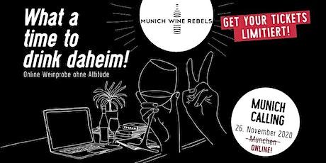 Online Wine Tasting - Goldener Herbst mit Fassprobe Tickets