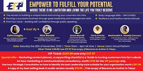 Empower to Fulfill Your Potential tickets