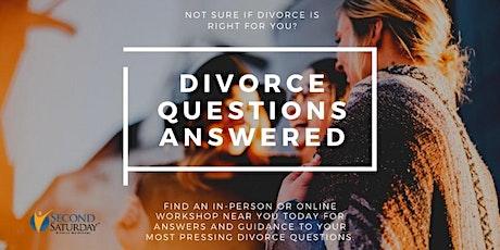 Central Kentucky Second Saturday Divorce Workshop Webinar tickets