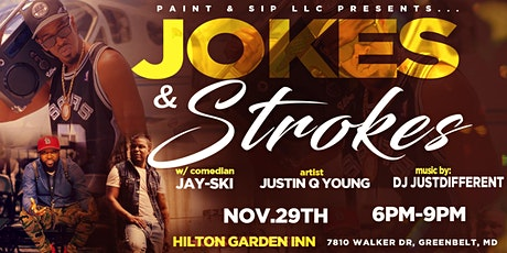 Jokes & Strokes-Maryland tickets