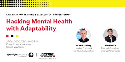 Hacking Mental Health with Adaptability