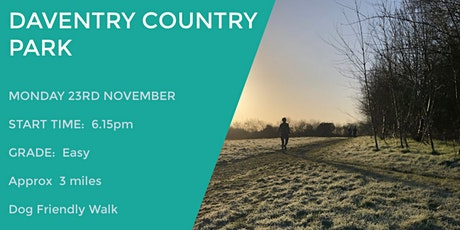 DAVENTRY COUNTRY PARK | 3 MILES | EASY | NORTHANTS tickets