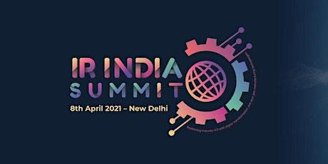 IR INDIA SUMMIT tickets