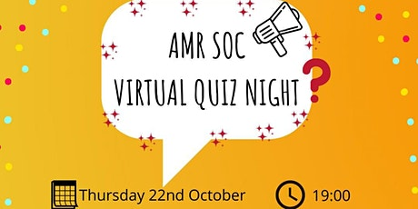 AMR Quiz Night - with the chance to win a £10 Blackwell's voucher! tickets