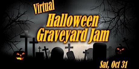 VIRTUAL HALLOWEEN GRAVEYARD JAM – Win A Caribbean Trip tickets