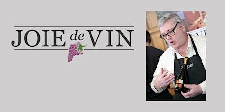 Online wine tasting with Love Wine and Joie de Vin tickets