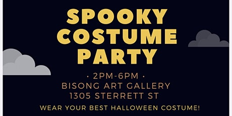 Spooky Costume Paint Party! tickets