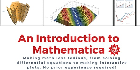 An Introduction to Mathematica tickets