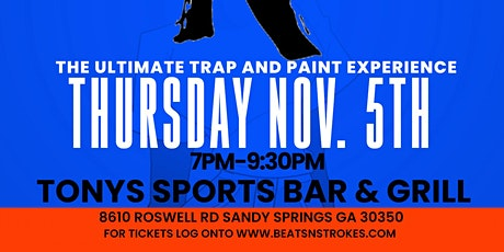 Trap and Paint Sandy Springs tickets