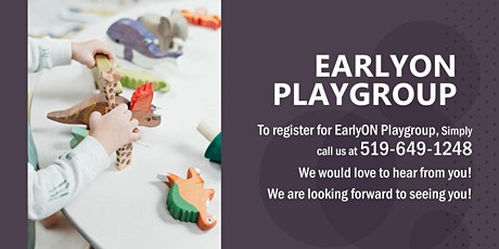 Thursday PM Indoor EarlyON Playgroup tickets