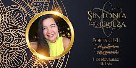 Sintonia da Riqueza - Portal 11 11 ingressos