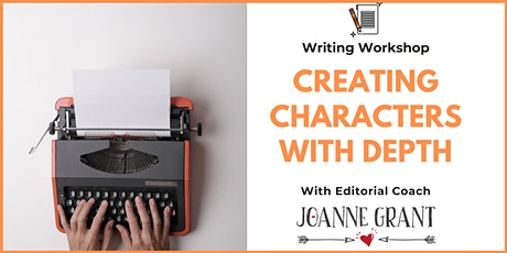 Writing Workshop: Creating Characters with Depth tickets