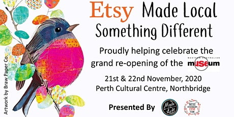 Etsy Made Local Perth & Handmade Market tickets