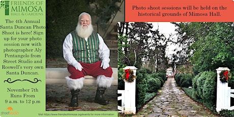 4th Annual Santa Duncan photo shoot at Mimosa Hall tickets
