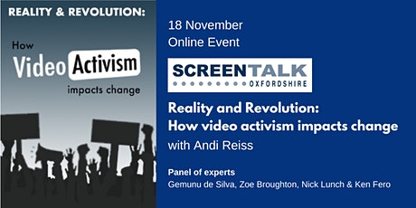 Reality and Revolution: how video activism impacts change tickets