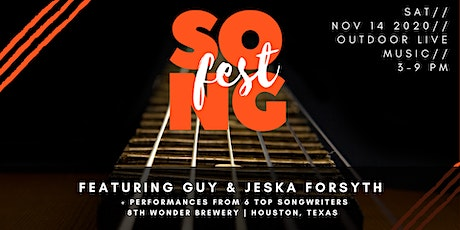 HoustonLive™ SongFest at 8th Wonder Brewery tickets