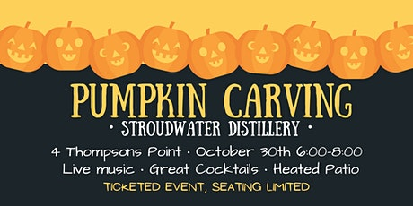Pumpkin Carving at Stroudwater Distillery tickets