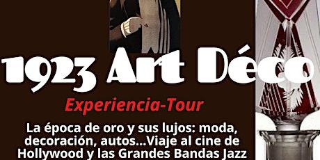 1923: La Gran Noche del Art Déco VIVO en P. Barolo: Show, tour y souvenir