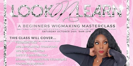 Beginners Wigmaster Class tickets